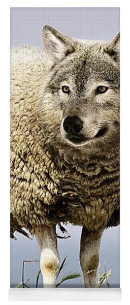 Wolf In Sheeps Clothing Yoga Mat