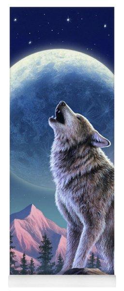 Wolf Moon Yoga Mat