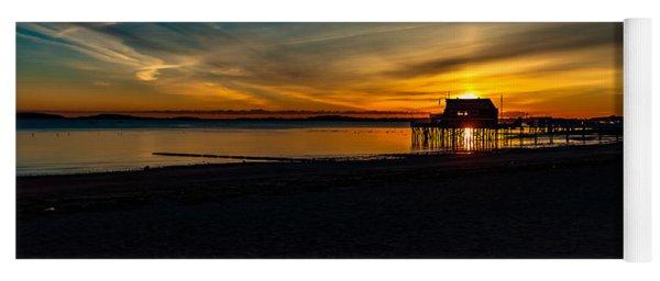 Wollaston Beach Sunrise 3 Yoga Mat