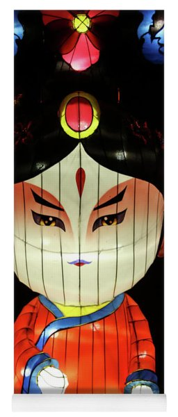Woman Lantern Yoga Mat