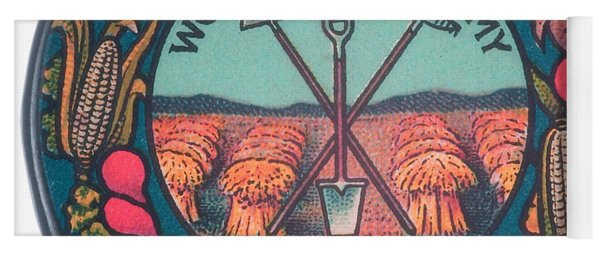 Womans Land Army Of America 1918 Suffragette Early Feminist Political Art Yoga Mat