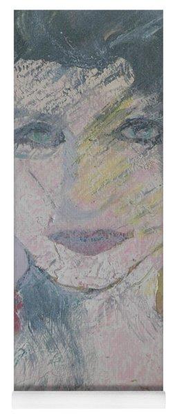 Woman's Portrait - Untitled Yoga Mat