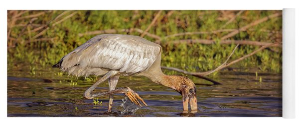 Wood Stork Yoga Mat