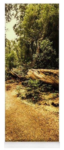 Woodland Nature Walk Yoga Mat
