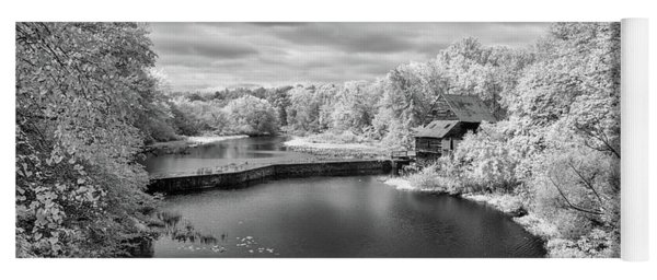 Woodson's Mill On The Little River Yoga Mat
