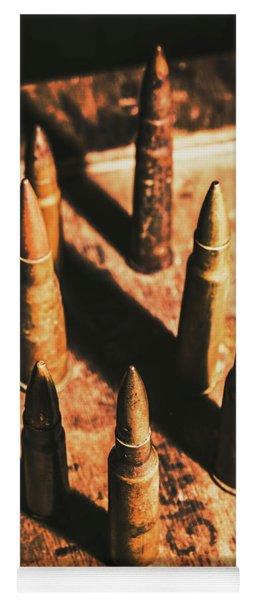 World War II Ammunition Yoga Mat