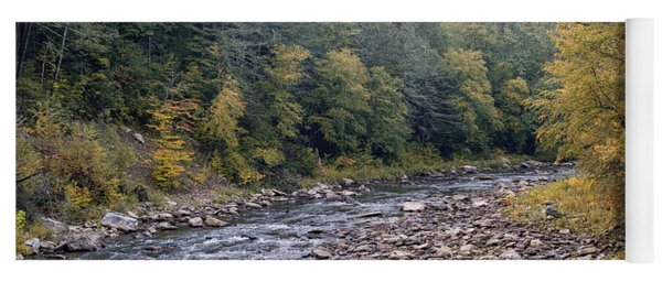 Worlds End State Park Loyalsock Creek Yoga Mat