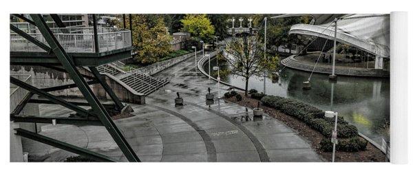 Worlds Fair Park Rain Yoga Mat