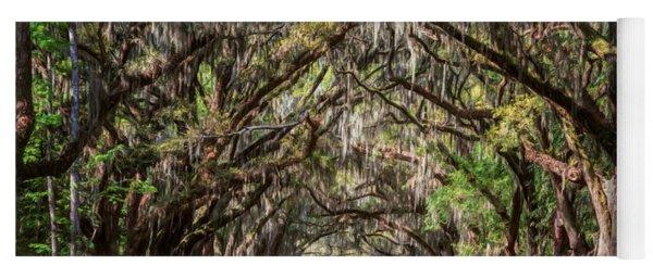 Wormsloe Plantation Oaks Yoga Mat