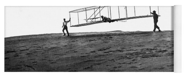 Wright Brothers Glider, 1902 Yoga Mat