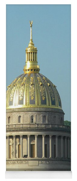 Wv State Capital Building  Yoga Mat