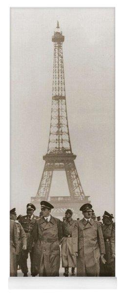 Ww II War Photo Series - In Paris Yoga Mat