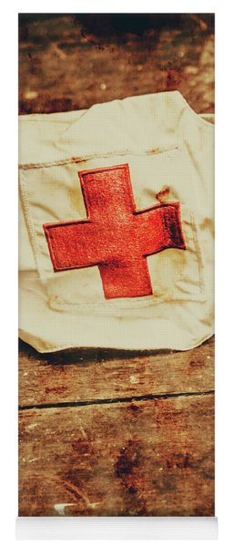Ww2 Nurse Hat. Army Medical Corps Yoga Mat