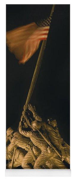 Iwo Jima Remembrance Yoga Mat