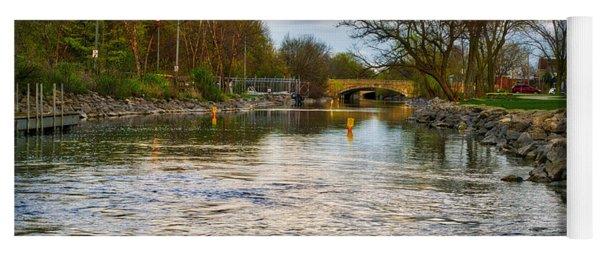 Yahara River, Madison, Wi Yoga Mat