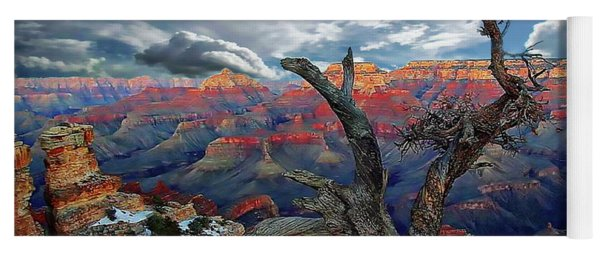 Yaki Point Grand Canyon Yoga Mat