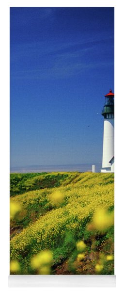 Yaquina Head Lighthouse- V2 Yoga Mat