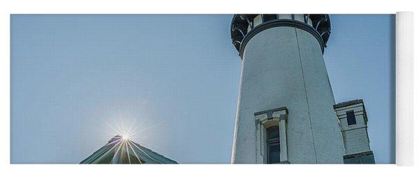 Yaquina Lighthouse Yoga Mat