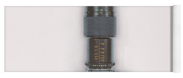 Yashica Fx-3 With 90mm Lens Yoga Mat