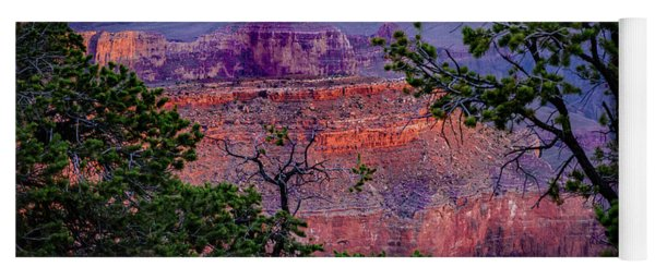 Yavapai Point - Grand Canyon Arizona Yoga Mat