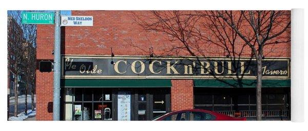 Ye Olde Cock N Bull Yoga Mat