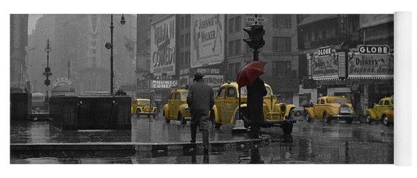 Yellow Cabs New York Yoga Mat