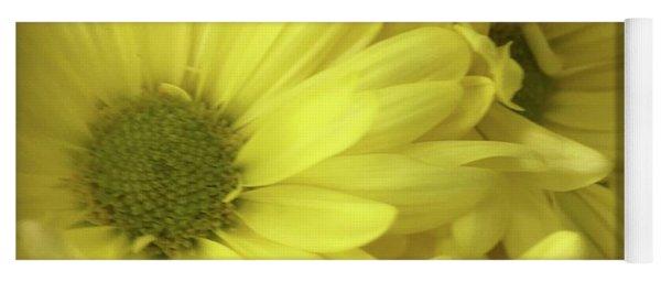 Yellow Daisies Yoga Mat