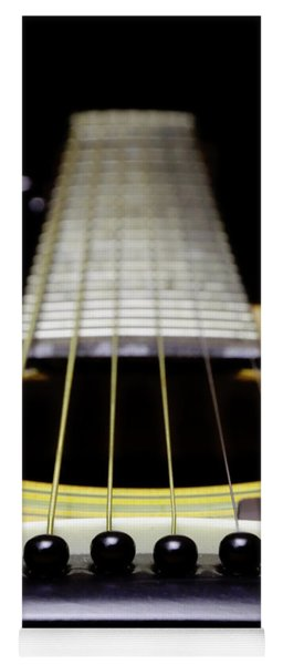 Yellow Guitar 17 Yoga Mat