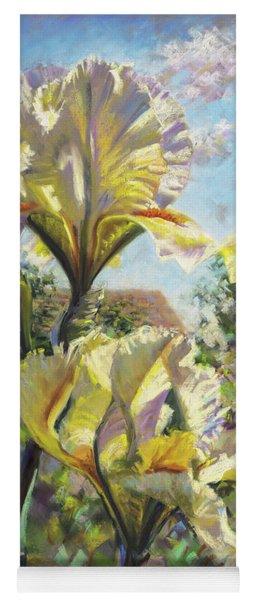 Yellow Iris Yoga Mat