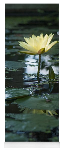 Yellow Lilly Tranquility Yoga Mat