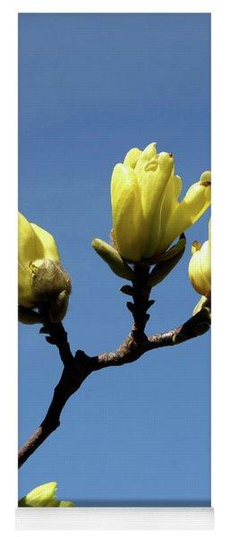 Yellow Magnolia Yoga Mat