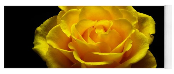 Yellow Rose 4 Yoga Mat