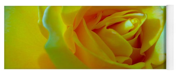 Yellow Rose Yoga Mat
