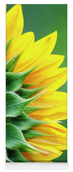 Yellow Sunflower Yoga Mat