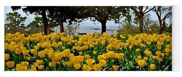 Yellow Tulips Of Fairhope Alabama Yoga Mat