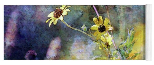 Yellow Wildflowers 3230 Idp_2 Yoga Mat