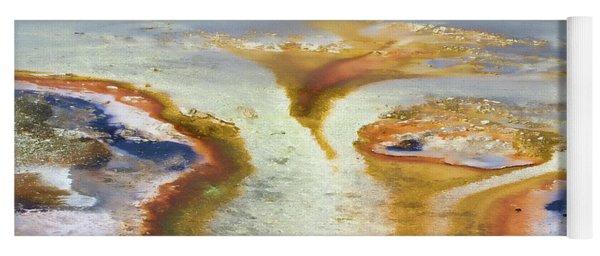 Yellowstone Abstract IIi Yoga Mat