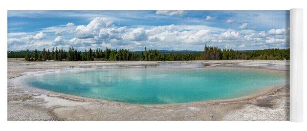 Yellowstone Colors #11 Yoga Mat
