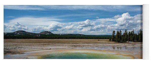 Yellowstone Colors #12 Yoga Mat