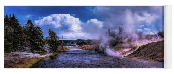 Yellowstone River Yoga Mat