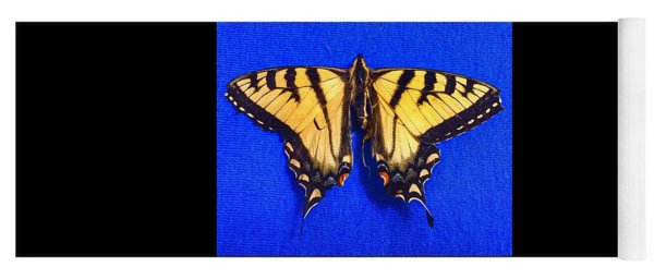 Yellowswallowtail Butterfly Yoga Mat