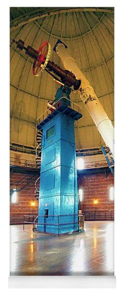 Yerkes Observatory Williams Bay Telescope  Yoga Mat