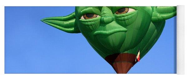 Yoda In The Sky Yoga Mat