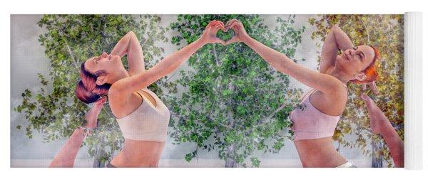 Yoga Heart Yoga Mat