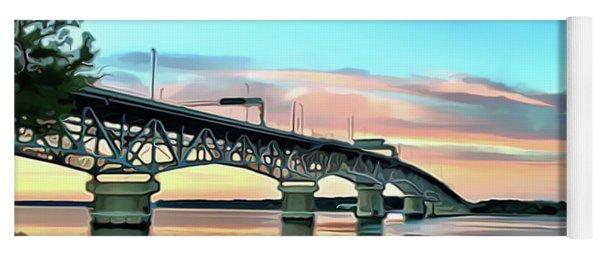 York River Bridge Yoga Mat