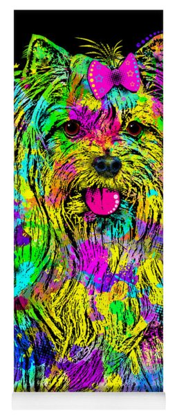 Yorkie Beauty Yoga Mat