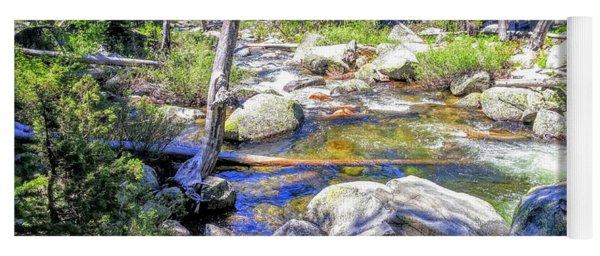 Yosemite Boulder Stream Yoga Mat