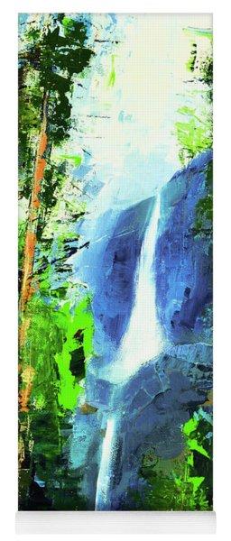 Yosemite Falls Yoga Mat