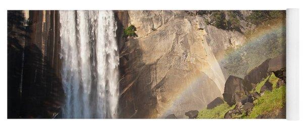 Yosemite Mist Trail Rainbow Yoga Mat
