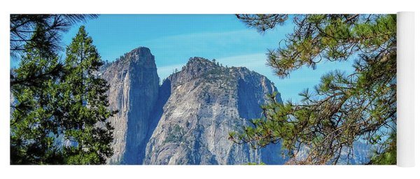 Yosemite Morning Yoga Mat